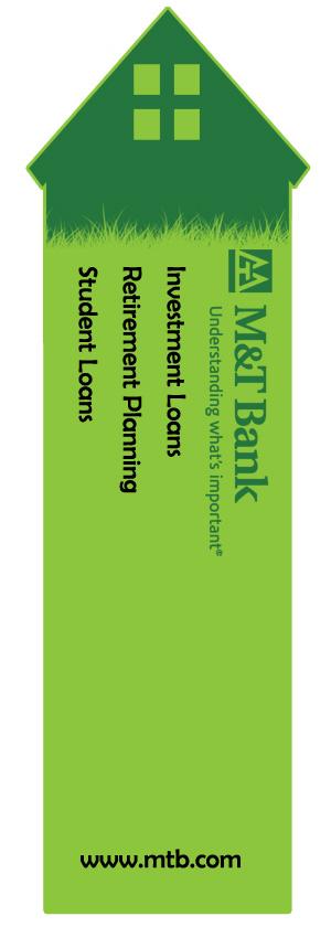 Tree house bookmark