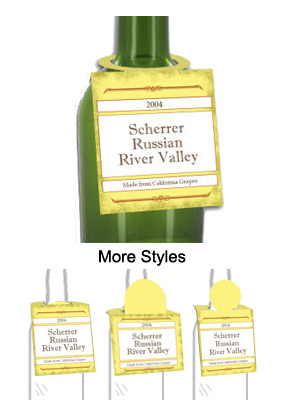 Vermont Wine Bottle Tags