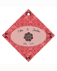 Victorian Wedding Favor Tags