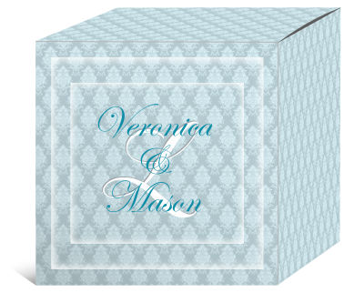 Monogram Wedding Boxes