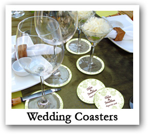Wedding Coasters