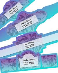 Leaf Pattern Cigar Band Labels