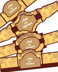 Nouveau Cigar Band Labels