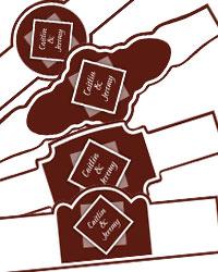 Portrait Cigar Band Labels