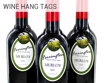Wine Hang Tags