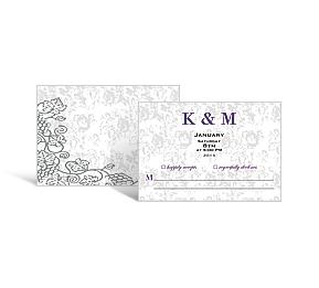 wedding response cards
