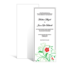 Affordable Custom Tea Length Wedding Invitation X Invi