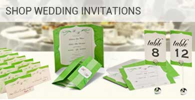 Cheap Wedding Invitations Menu Program