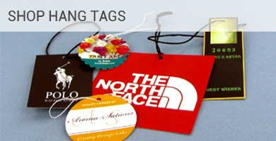 Custom Printed Product Short Run Hang Tags