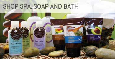 Custom Spa Soap Bath Labels Tags Bottle Hanger
