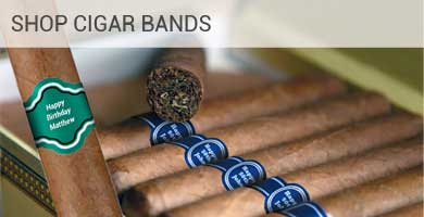 Shop Cigar Bands - custom design and personalization available