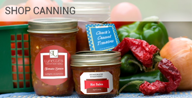 custom canning stickers and food labels