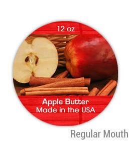 Apple Butter Regular Mouth Ball Jar Topper Insert