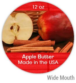 Apple Butter Wide Mouth Ball Jar Topper Insert