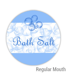 Bath Salt Regular Mouth Ball Jar Topper Insert