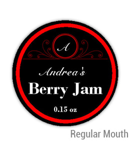 Berry Jam Regular Mouth Ball Jar Topper Insert