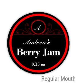 Berry Jam Regular Mouth Ball Jar Topper Insert