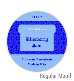 Blueberry Jam Regular Mouth Ball Jar Topper Insert