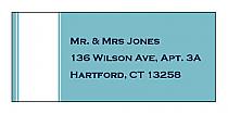 Classic Address Wedding Labels