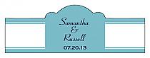 Classic Billbord Cigar Band Wedding Labels