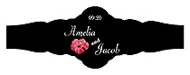 Coralbell Lace Wedding Fancy Cigar Band Label