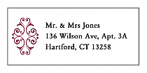Decor Address Wedding Labels