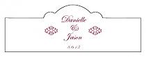 Decor Billbord Cigar Band Wedding Labels
