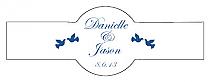 Doves Cigar Band Wedding Labels