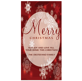 Personalized unique business christmas cards and corporate holiday christmas card w envelope 4 x 8 frosty snowman red snowflakes business style colourmoves