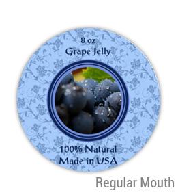 Grape Jelly Regular Mouth Ball Jar Topper Insert