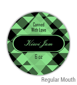 Kiwi Jam Regular Mouth Ball Jar Topper Insert