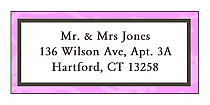 Magnolia Address Wedding Labels