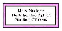 Magnolia Address Wedding Labels