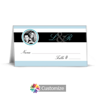Memorable 3.5 x 2 Wedding Place Card