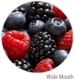 Mixed Berry Jelly Wide Mouth Ball Jar Topper Insert