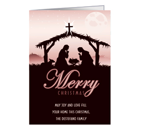 Personalized Corporate Christmas Greeting Cards