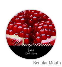 Pomegranate Regular Mouth Ball Jar Topper Insert