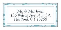 Provencale Address Wedding Labels