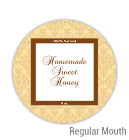 Sweet Honey Regular Mouth Ball Jar Topper Insert