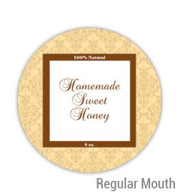 Sweet Honey Regular Mouth Ball Jar Topper Insert