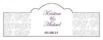 Vintage Billbord Cigar Band Wedding Labels