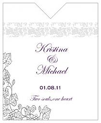 Vintage Wine Wedding Label 3.25x4