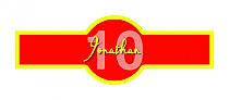 Flag Birthday Cigar Band Labels