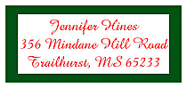 Christmas Memorable Address Labels
