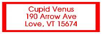 Valentine Mini Hearts Address Labels