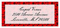 Valentine Floral d-Address Labels