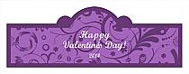 Valentine Serenity Billboard Cigar Band Labels