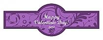 Valentine Serenity Cigar Band Labels