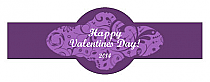 Valentine Serenity Fancy Cigar Band Labels