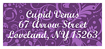 Valentine Serenity address Label